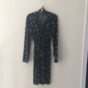 Jones Mew York Signature Paisley Dress